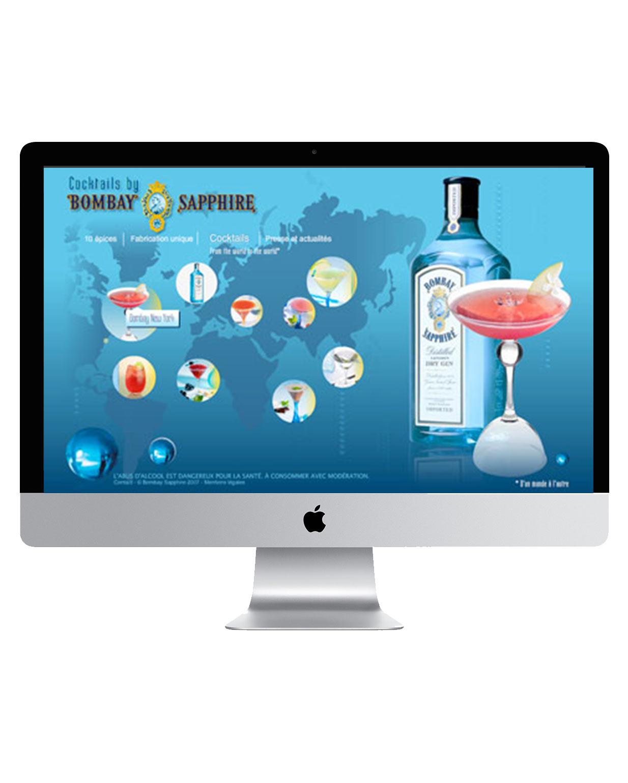 Site Bombay Sapphire